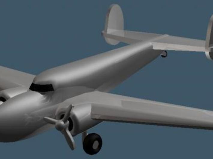 Lockheed 14 - Zscale 3d printed Color Render