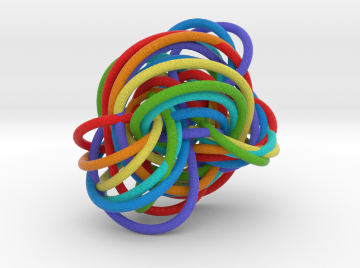 Color Perko Morph 3d printed
