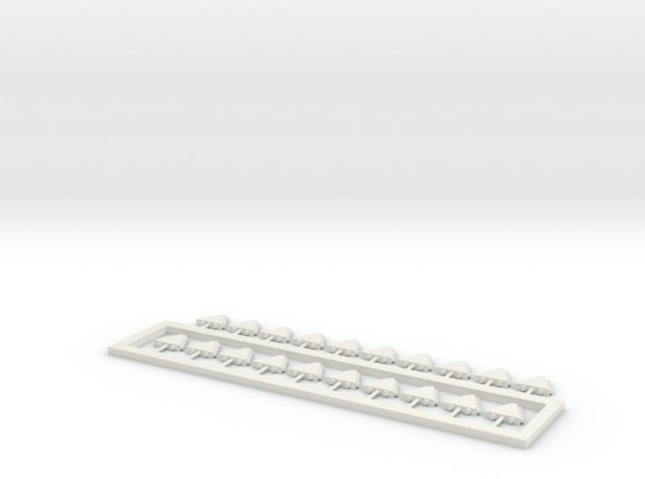 20 Fun Slide Lights Ho Scale 3d printed