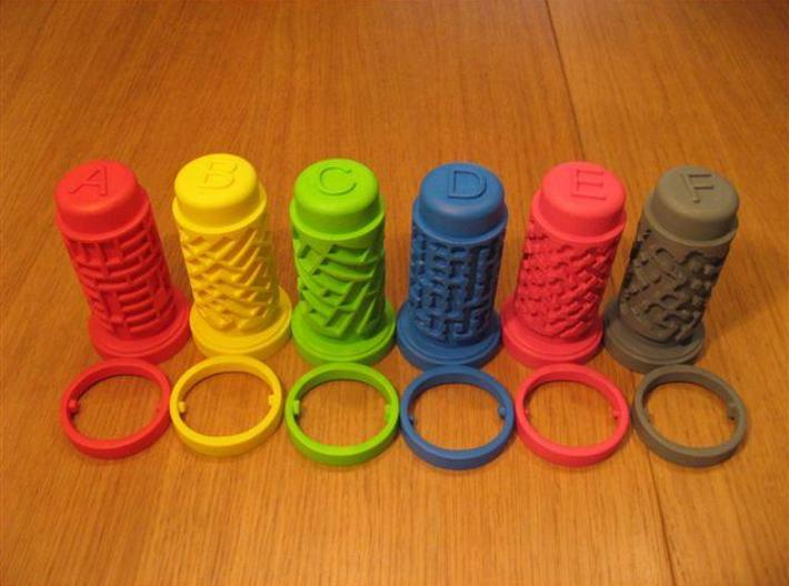 Cooksey Tribute B 3d printed Set of Cooksey Tribute puzzles