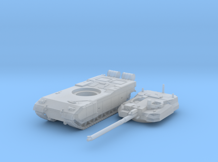 1/200 French Leclerc Main Battle Tank 3d printed 1/200 French Leclerc Main Battle Tank