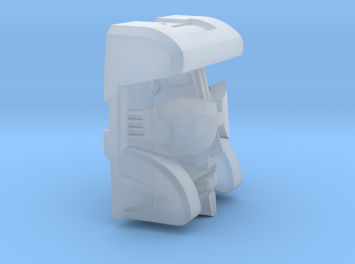 The Pacifist's Face for TR Blurr 3d printed