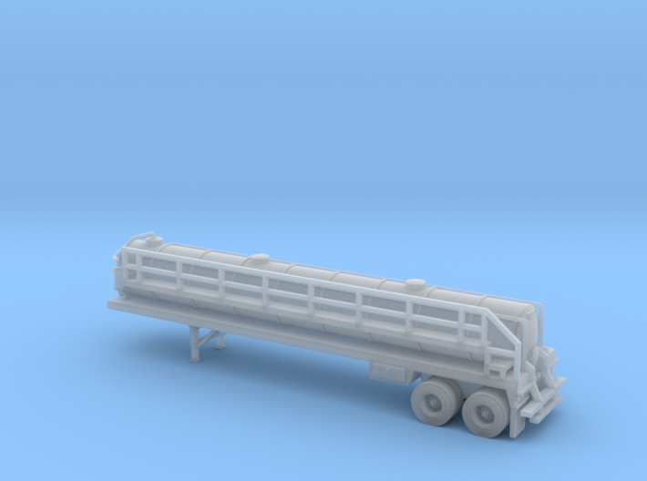 N scale 1/160 Crude oil trailer, Troxell 130 3d printed