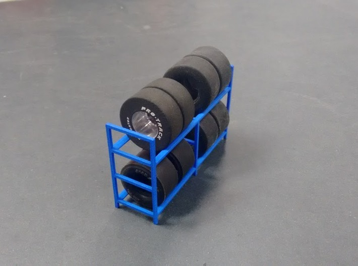 Tire Storage Rack V3 1/24 - 1/25 3d printed