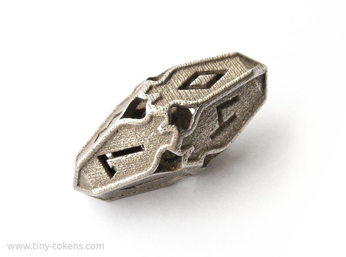 Amonkhet D10 gaming die - Small, hollow 3d printed