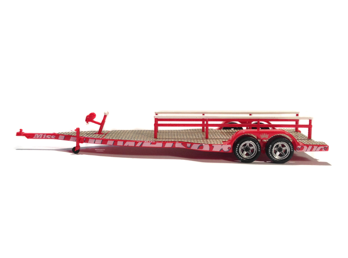 1/87 Formula-1 Speedboat Trailer 3d printed FUD with extra metal parts (sold separately)