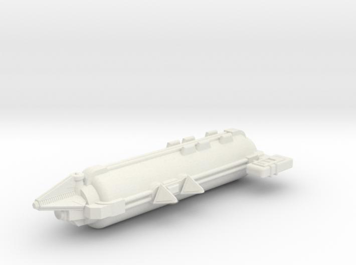 Omni Scale Tholian Web Tender SRZ 3d printed