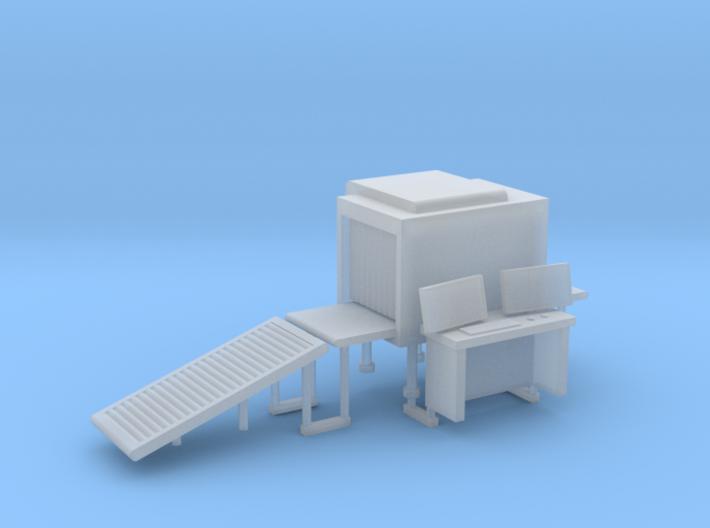 Baggage XRay Scanner OO-Scale 3d printed