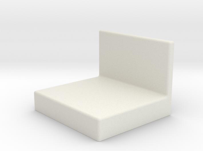 Ikea KALLAX bracket cover 3d printed