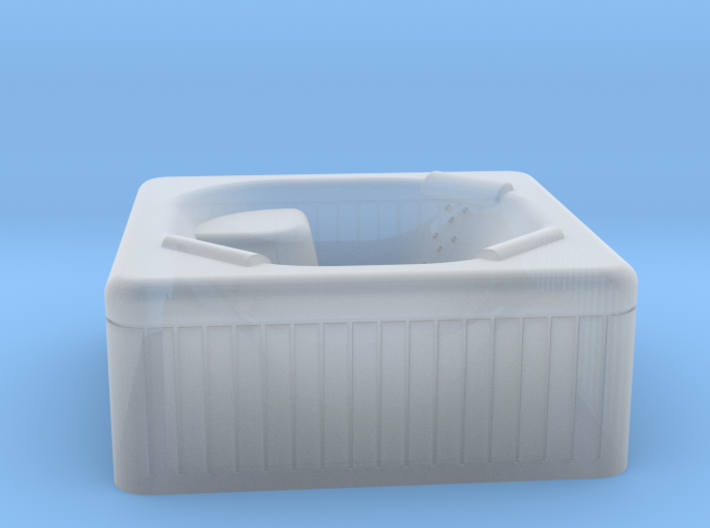 Jacuzzi Outdoor Hot Tub N-scale 3d printed