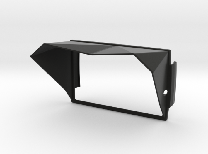 Sunshade II (Clip-On) For BMW Navigator 5, Clean 3d printed