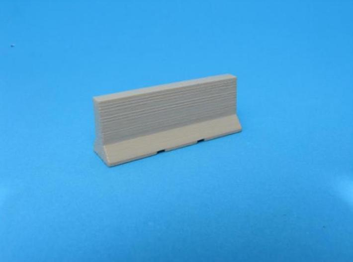 HO/1:87 Jersey barrier 3m 3d printed Painted & assembled