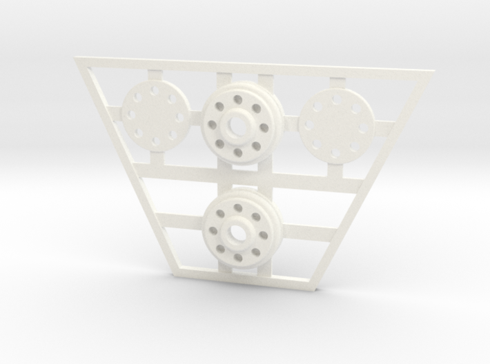 McGann Console - Time Rod Fixtures 3d printed
