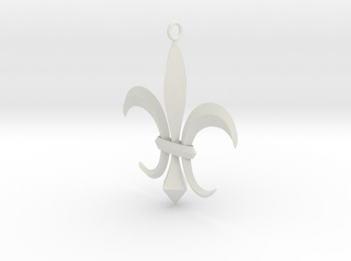 Flor de Lis - Letras 3d printed