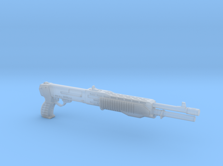 SPAS 12 1:14 scale 3d printed