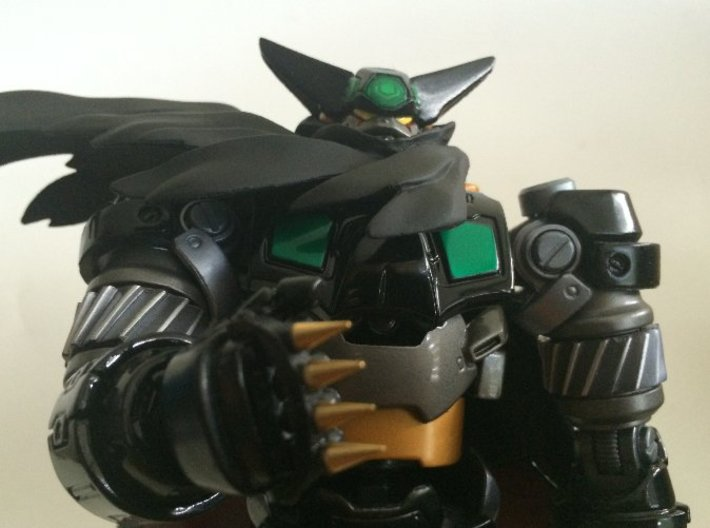 KNUCKLE DUSTERS FOR FEWTURE GETTER 3d printed GIVE YOUR GETTER THAT ANIME TOUCH!