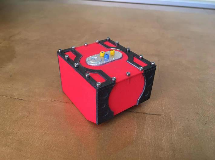 Venom Engineering Fuel Cell Box ( UCFab PRT ) 3d printed