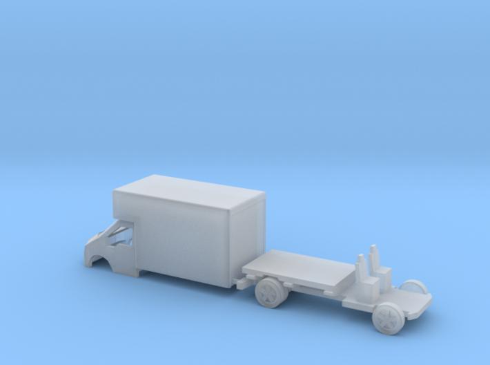 N Gauge Transit Luton Van 3d printed