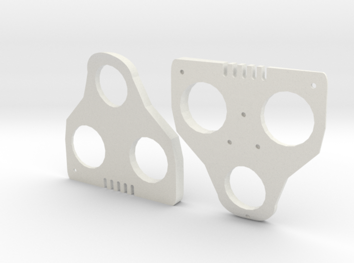 5° Wedges for SPD-SL and Keo 3d printed