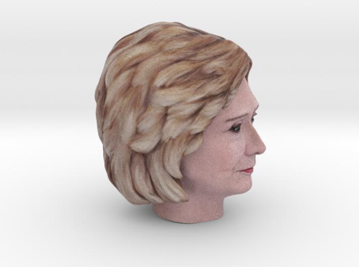 Hillary Clinton 3d printed
