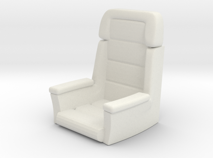 Captainu0027s Chair (Star Trek Voyager), 1/30 3d Printed