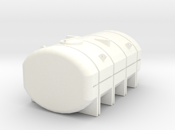 1/64 3250 Gallon Tank 3d printed