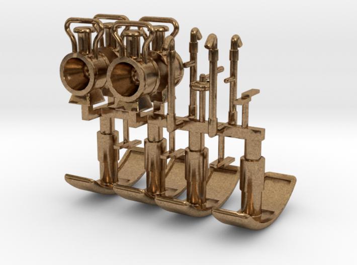 ZE Onderdelen voor stoomtramlocs van de ZE 3d printed