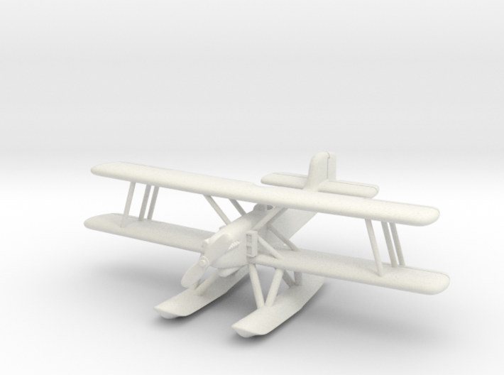 Martin SC2 (Curtiss CS) with floats 1/285 6mm 3d printed