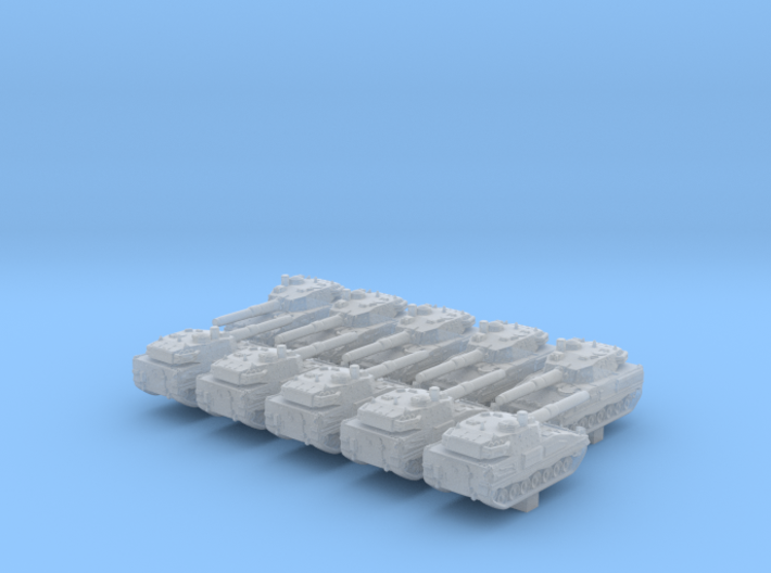 1/600 ASCOD Ulan LT105 Light Tank x10 3d printed 1/600 ASCOD Ulan LT105 Light Tank x10