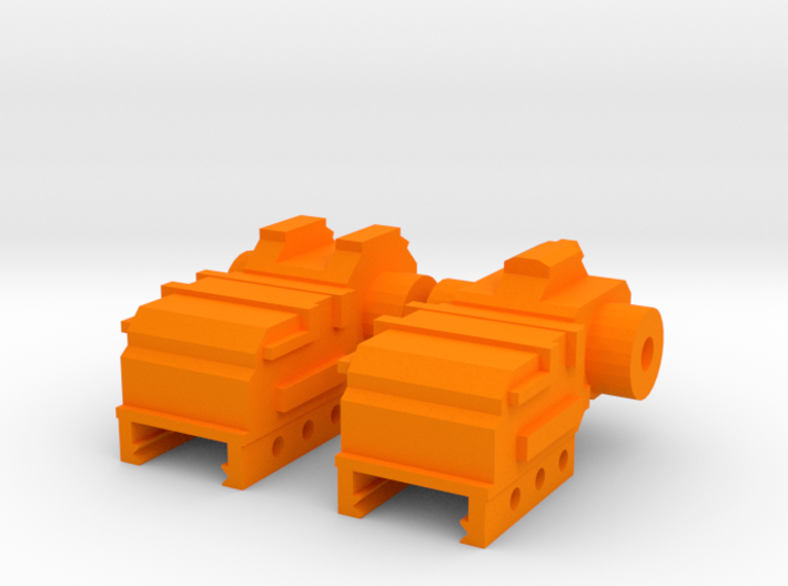SM-55 Front and Rear Iron Sights 3d printed