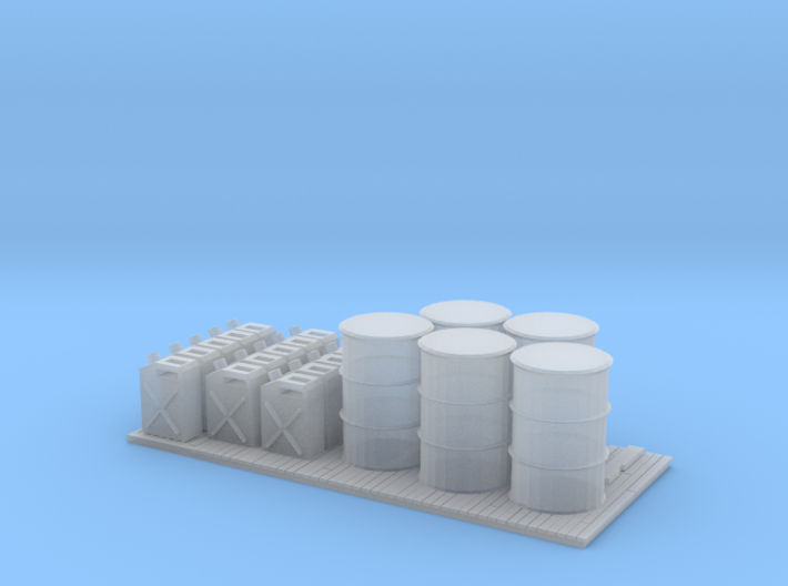 O Scale Petrol Pallet 3d printed This is a render not a picture