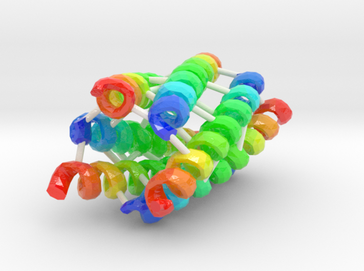 Coiled-Coil Hexamer 3d printed