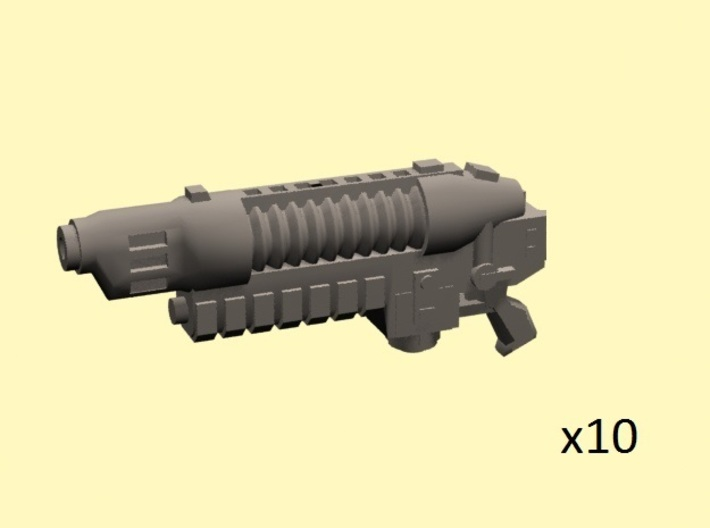 28mm Scorcher Blaster Mk.II (10) 3d printed