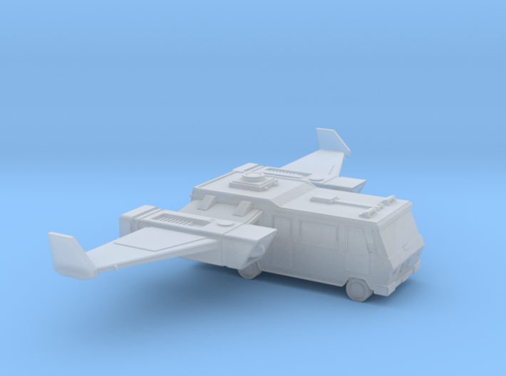 Space Race - #1 - Flying Camper 3d printed
