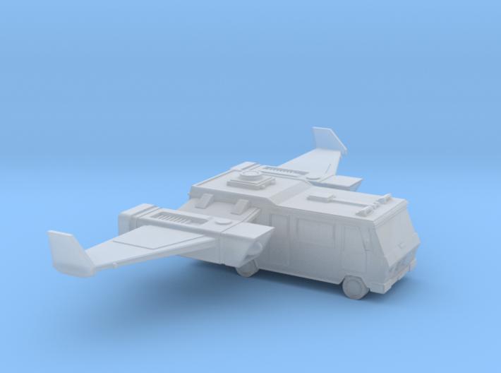 Space Race - #1 - Flying Camper 3d printed