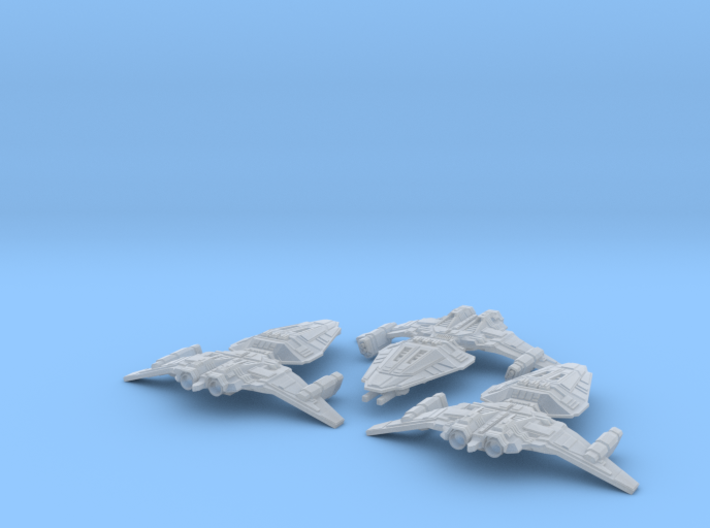 HOMEFLEET Frigate Squadron - 3 ships 3d printed