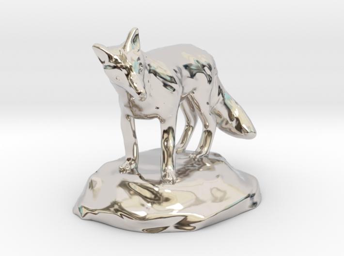 Xeno Borellis, Druid in Fox Form 3d printed