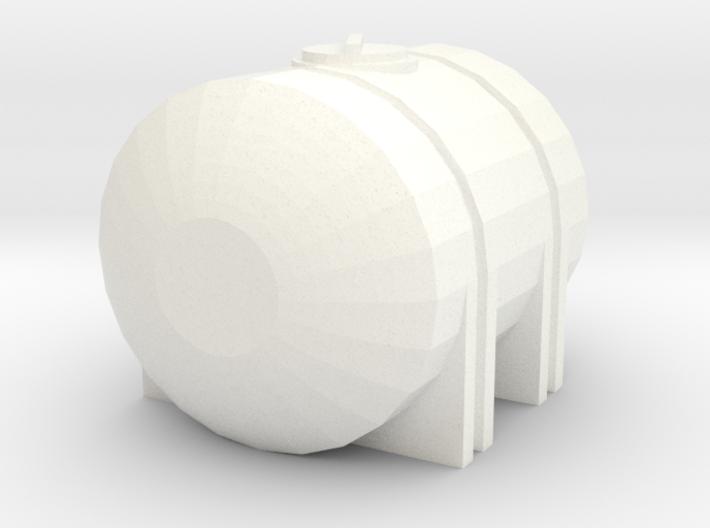 1/64 225 Gallon Tank 3d printed