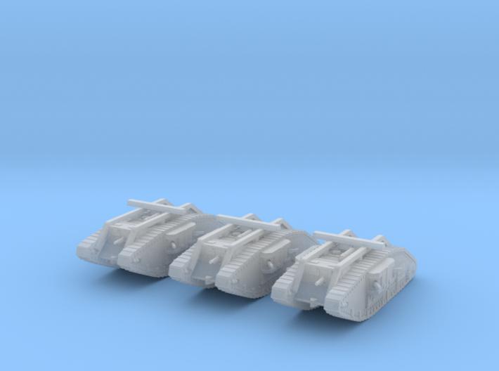 6mm Mark V Female tank 3d printed