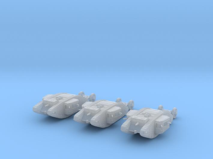 6mm Mk.I Female Tank 3d printed