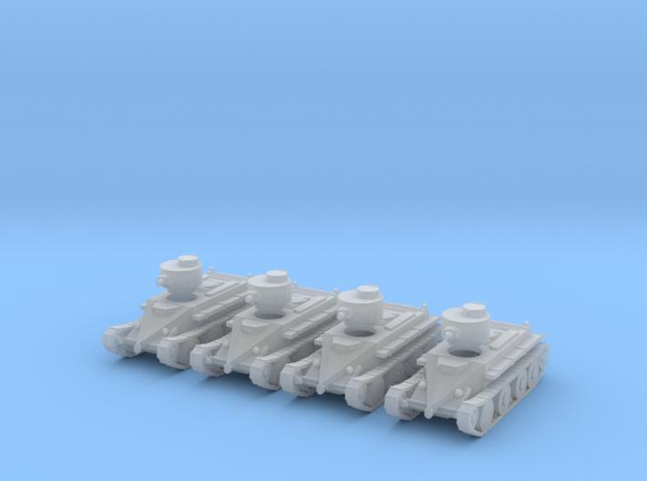 6mm 1/285 Christie T3 tank 3d printed