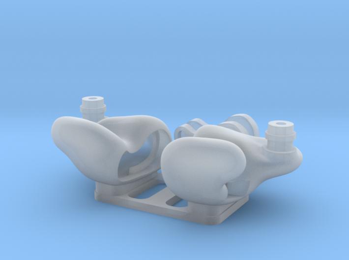 Universal IEM Shells 3 : ED/Engraved Cover Ver. 3d printed