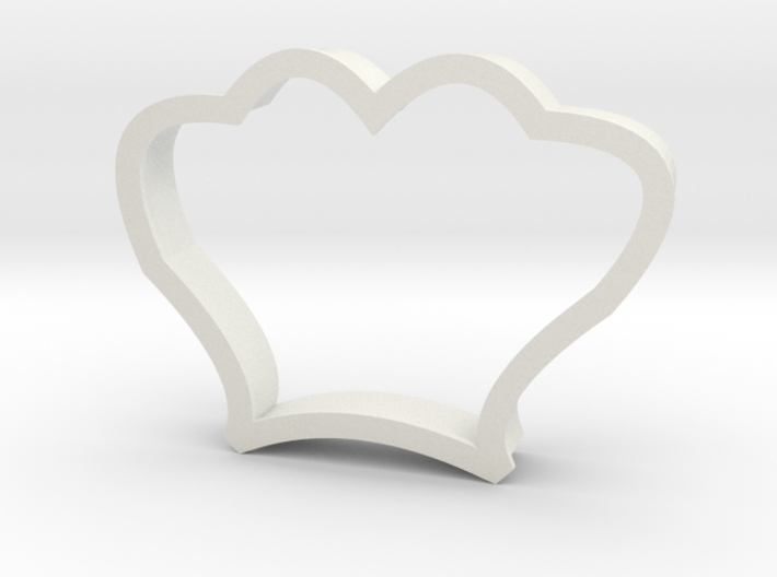 Seashell Cookie Cutter 3d printed
