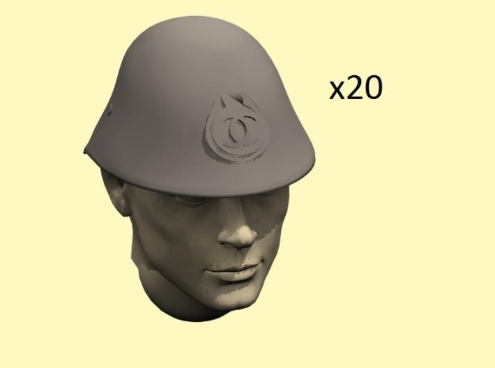1/35 WW2 Romanian helmets 3d printed