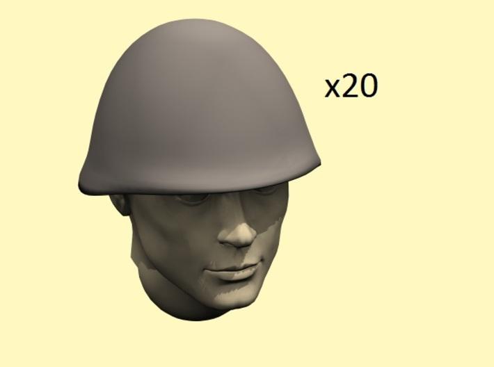 1/35 scale Soviet Russian helmet SSh68 3d printed