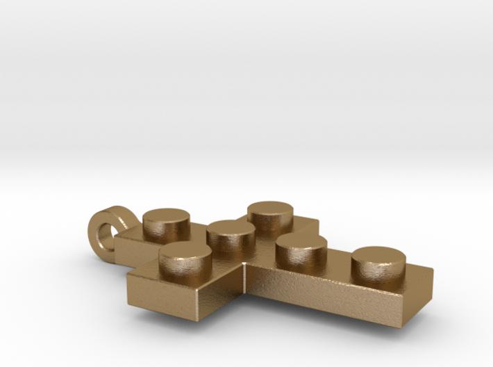 Brick Cross Thin 3d printed