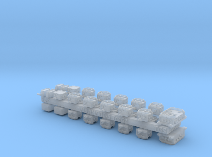 1/35 and 1/16 AN/VIC-5(V) Intercom set MSP35-003 3d printed