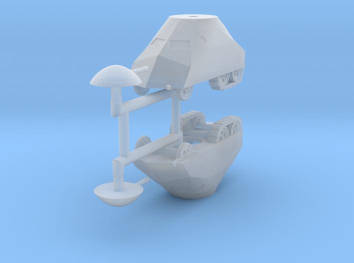 1/285 (6mm) Tortuga armored car (x2) 3d printed