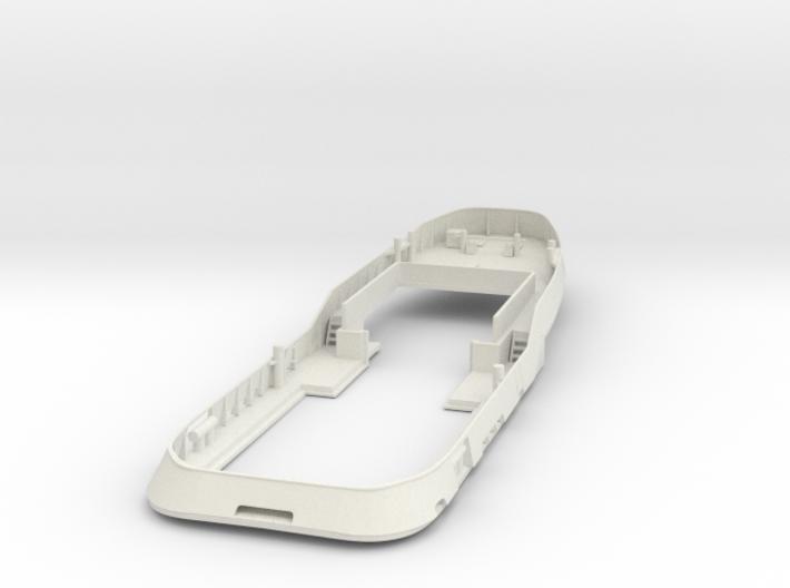 Main Deck & Bullwark 1/87 V56 fits Harbor Tug 3d printed