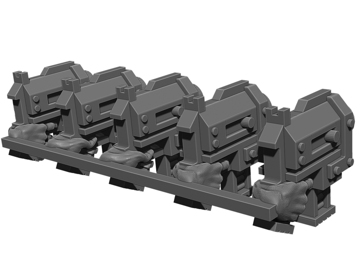 Slug Pistol Weapons Pack 3d printed This is a 3d render, not a photograph of the model printed in the material.